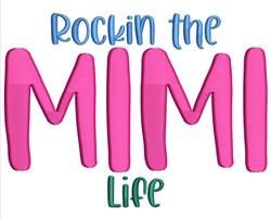 Mimi Life embroidery design