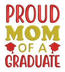 Mom Of Graduate embroidery design