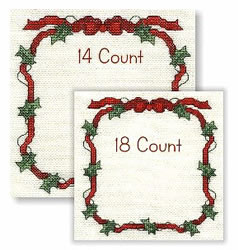Holly Ribbon Border Embroidery Designs Machine Embroidery
