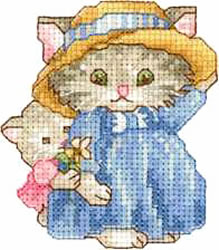 Kittens embroidery design