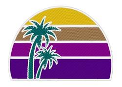 Purple Sunset embroidery design