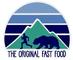 The Original Fast Food embroidery design