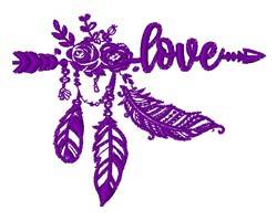 Southwestern Outline embroidery design