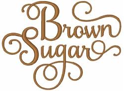 Brown Sugar embroidery design