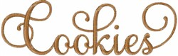 Cookies embroidery design