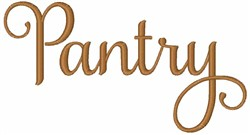 Pantry embroidery design