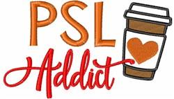 PSL Addict embroidery design