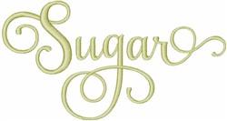 Sugar embroidery design