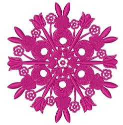 Easter Mandala embroidery design