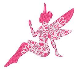 Fairy Mandala embroidery design