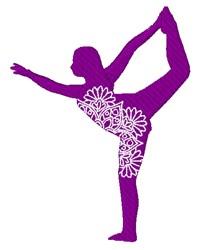 Yoga Mandala embroidery design