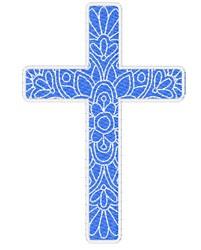 Cross Mandala embroidery design