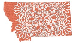 Montana Mandala embroidery design