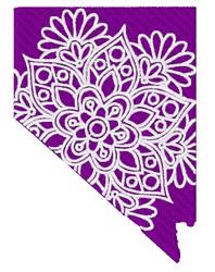 Nevada Mandala embroidery design