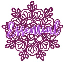 Essential embroidery design
