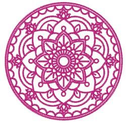 Mandala Circle embroidery design