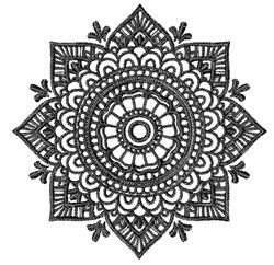 Mandala embroidery design
