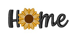 Home Sunflower embroidery design