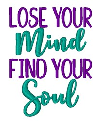 Mind Soul embroidery design