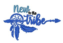 New To Tribe embroidery design
