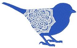 Bird Mandala embroidery design