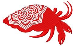 Hermit Crab Mandala embroidery design