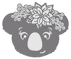 Christmas Koala embroidery design