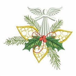 Angel Greetings embroidery design