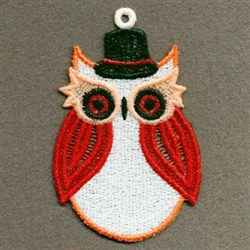 FSL Wise Owl embroidery design