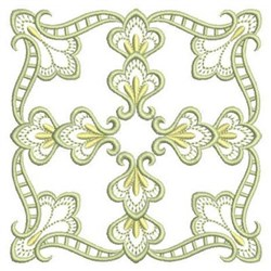 Quilt Satin Block embroidery design