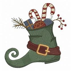 Christmas Elfs Shoe embroidery design