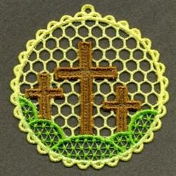 FSL Cross Scene embroidery design
