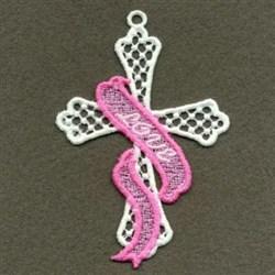 FSL Love Cross embroidery design