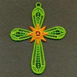 FSL Sunshine Cross embroidery design