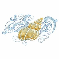 baroque seashells embroidery design pack by wind bell embroidery embroidery packs on. Black Bedroom Furniture Sets. Home Design Ideas