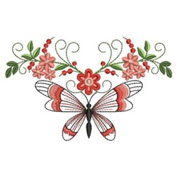 Floral Quilt Border Embroidery Designs, Machine Embroidery Designs at EmbroideryDesigns.com