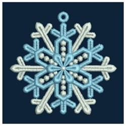 FSL Tiny Snowflake embroidery design