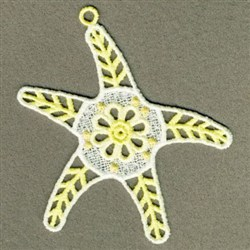 FSL Starfish embroidery design