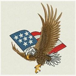 American Eagle Amp Flag Embroidery Designs Machine