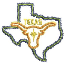 Neon Texas Embroidery Designs Machine Embroidery Designs #0: wbe1685 003