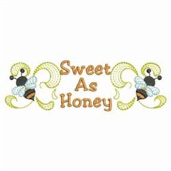 Sweet As Honey Border embroidery design