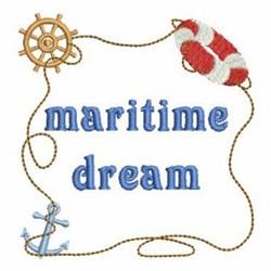Maritime Dream embroidery design