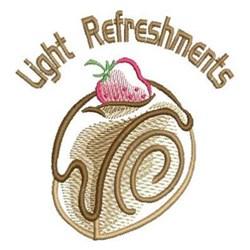 Light Refreshments embroidery design