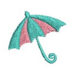 Mini Umbrella embroidery design