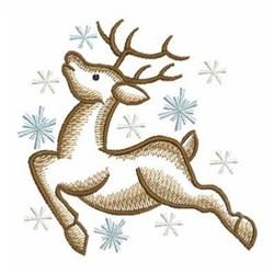 Sketched Reindeer embroidery design