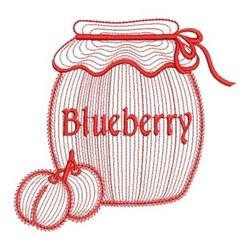 Redwork Mason Jars embroidery design