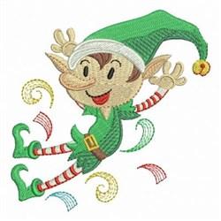 Christmas Elf embroidery design