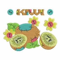 Patchwork Kiwis embroidery design