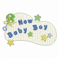 Baby Boy Decoration embroidery design