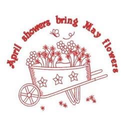 Rework Spring Florals embroidery design